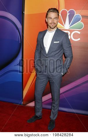 LOS ANGELES - AUG 3:  Derek Hough at the NBC TCA Press Day Summer 2017 at the Beverly Hilton Hotel on August 3, 2017 in Beverly Hills, CA
