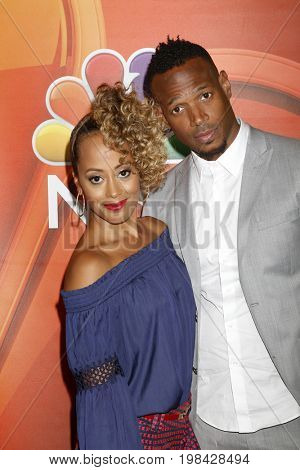 LOS ANGELES - AUG 3:  Essence Atkins, Marlon Wayans at the NBC TCA Press Day Summer 2017 at the Beverly Hilton Hotel on August 3, 2017 in Beverly Hills, CA