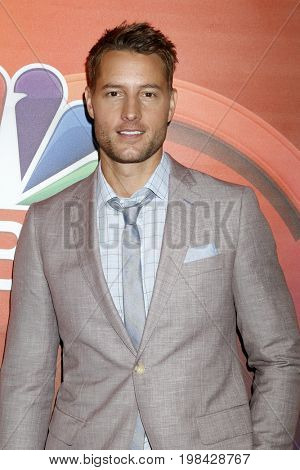 LOS ANGELES - AUG 3:  Justin Hartley at the NBC TCA Press Day Summer 2017 at the Beverly Hilton Hotel on August 3, 2017 in Beverly Hills, CA