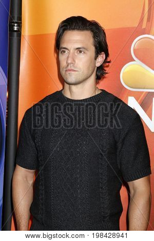 LOS ANGELES - AUG 3:  Milo Ventimiglia at the NBC TCA Press Day Summer 2017 at the Beverly Hilton Hotel on August 3, 2017 in Beverly Hills, CA