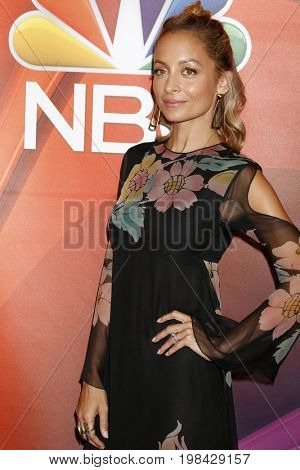 LOS ANGELES - AUG 3:  Nicole Richie at the NBC TCA Press Day Summer 2017 at the Beverly Hilton Hotel on August 3, 2017 in Beverly Hills, CA