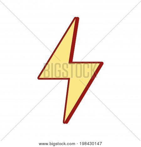 energy hazard symbol design image vector illustration