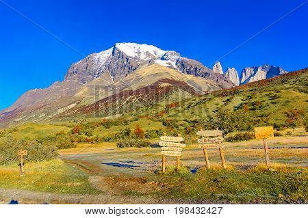 Torres del Paine, Patagonia, Chile - Southern Patagonian Ice Field, Magellanes Region of South America