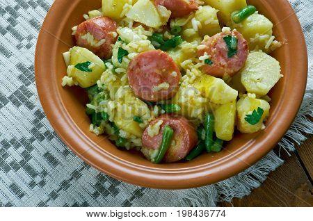 Jambalaya. Spicy Rice
