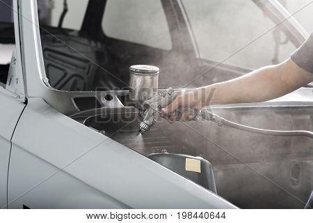 Auto body repair series: Engine bay painting