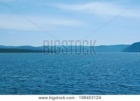 Angara river eastern Siberia. siberia summer travel