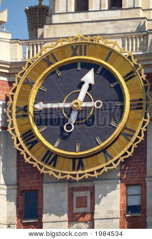 Clocks On The Moscow State University