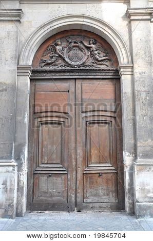 An old parisian door