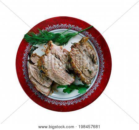 Carne Porco Assado