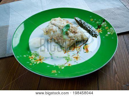 Fish In Garlic Sauce