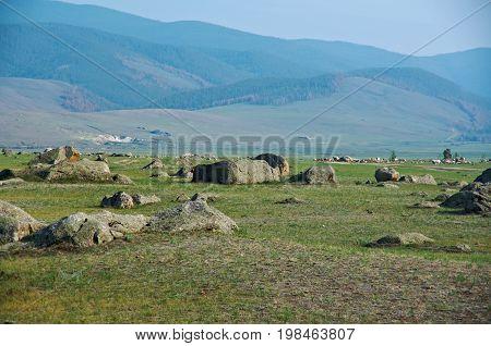 Ininsky rock garden, Buryatia  Russia summer travel