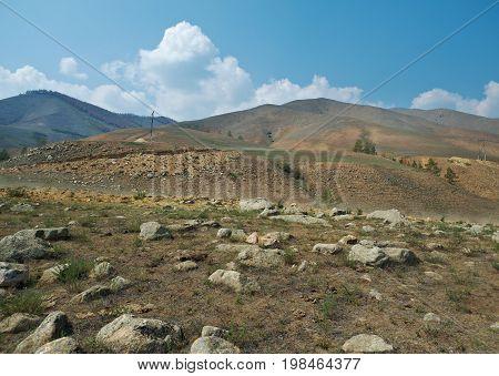 Barguzin valley Buryatia Russia. Barguzin valley Buryati