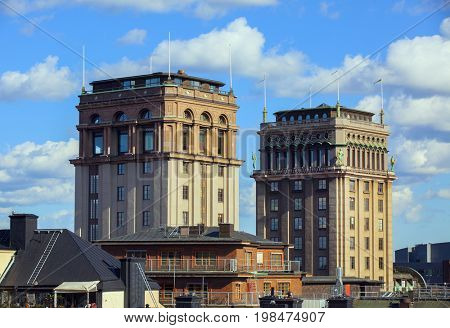 Kings Tower building in central Stockholm