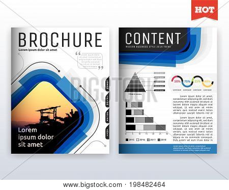 Modern Corporate Business Flyer Layout Design