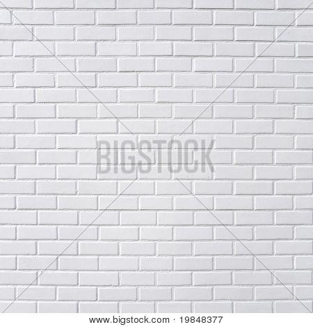 Szögletes fehér téglafal háttér