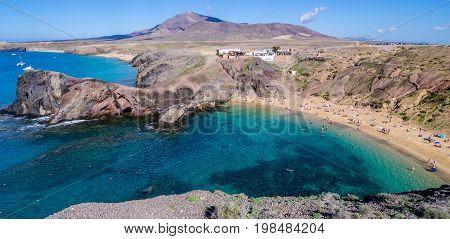 Canary Islands - Lanzarote - Papagayo beach