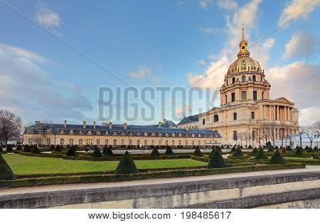 Les Invalides - Paris France at a day