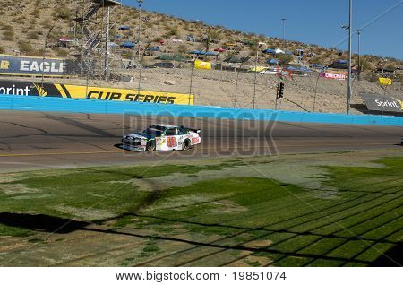 AVONDALE, AZ - NOV 7 - Dale Earnhardt Jr. (88) competes in the NASCAR Sprint Cup Series at the Phoenix International Raceway on November 7, 2008 in Avondale, Arizona.