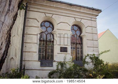 Konin, Poland. Historic Synagogue Of Small Polish Town Called Konin. . Greater Poland Province.