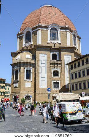 Dome Of The Basilica Saint Lorenzo In Florence