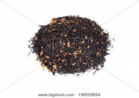 pile of chai tea with pumpkin and clove