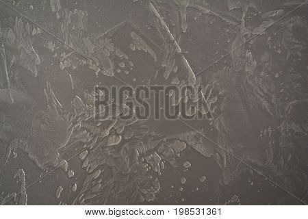 decorative plaster with a pearlescent glow for interior design