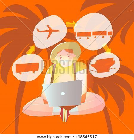 vacation travel. Online booking. Purchase tickets through the Internet, tours, accommodation. Online reservation