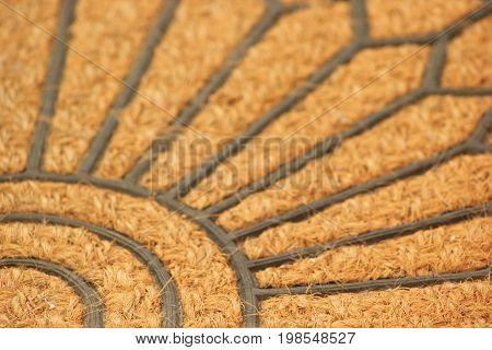 Textura com padrão irregular circular formando uma flor