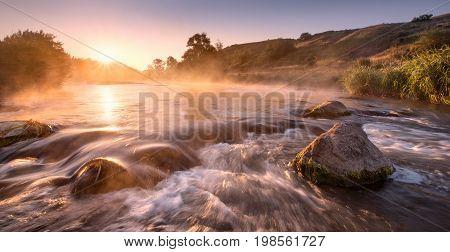 Golden River Morning