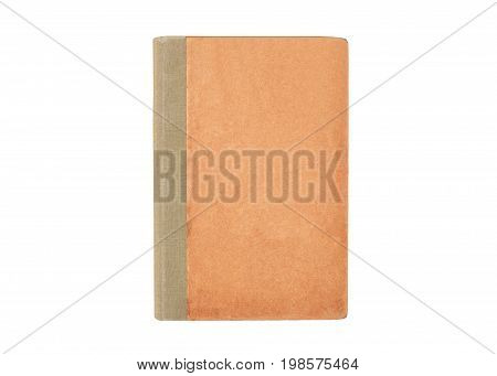 Antique Book On White