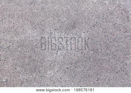 Grey concrete texture close up. Macro photo.
