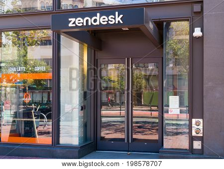Zendesk Coporate Headquarters And Logo