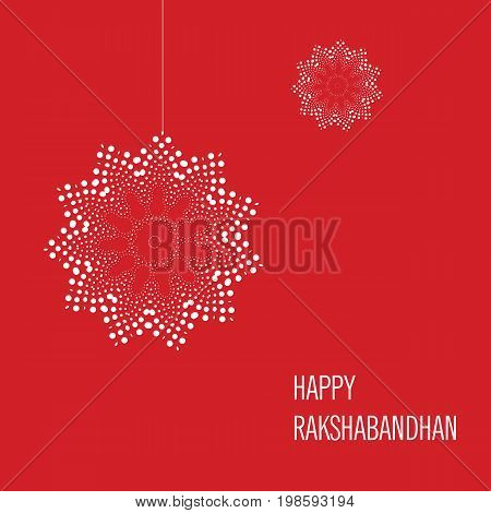 Vector abstract for Raksha Bandhan with nice illustration in a creative background, Beautiful background with illustration of cute little sister and brother with gift preparing for Rakhi.