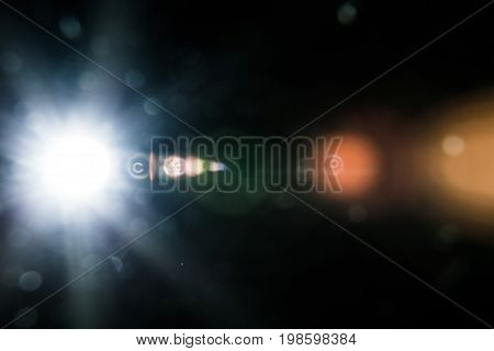 Real Lens Flare Studio Shot Easy To Add As Filter Over Photos