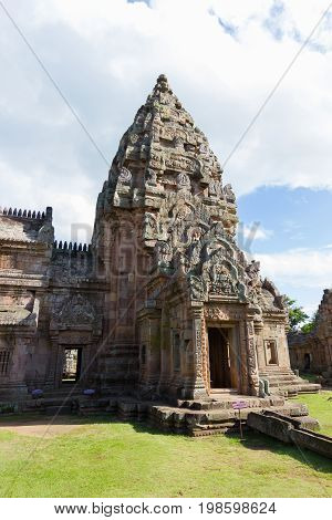 Prasat Hin Phanom Rung Impressive Ancient Khmer Temple in Buriram Province of Thailand