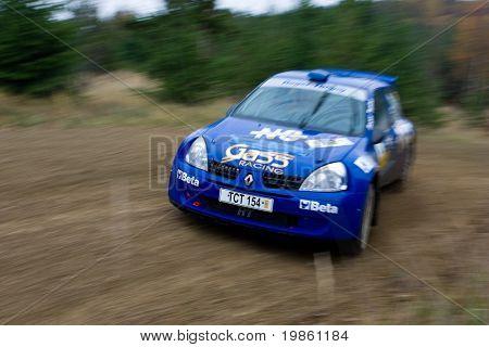 Rallye car - the photo was taken at the Waldviertel Rallye 2007 in Austria.