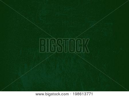 Dark green background of school blackboard colored texture or green texture of paper