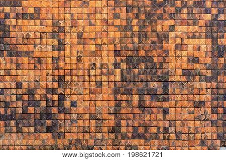 old hardened clay wall texture abstract for background