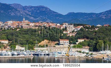Corsica Island, France. Porto-vecchio, Summer