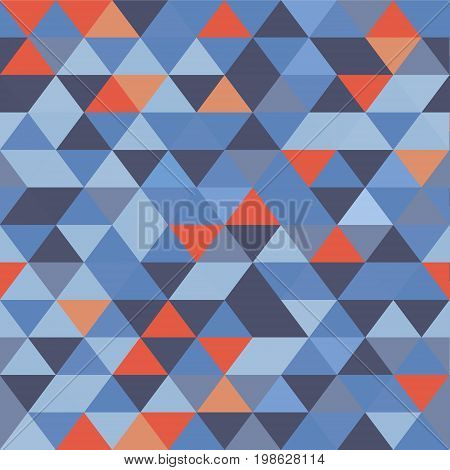 Triangle seamless motley background for your designe.