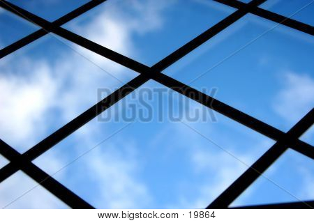 Blue Sky Out A Window