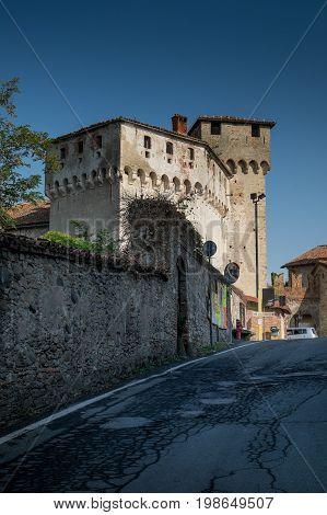 Lerma, Piedmont, Italy - The Castle