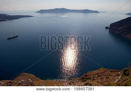 Caldera view, Santorini Island , Greece 2017