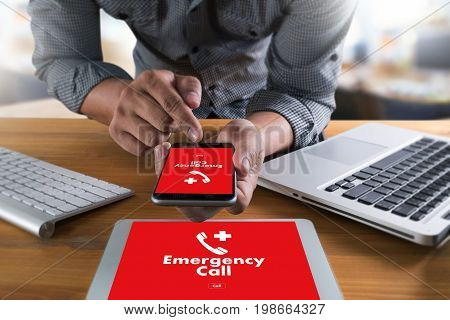 Emergency Call Center Service Urgent Accidental Hotline Medical Service