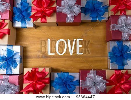 Red Heart I Love You Live Passion Gift Happiness Care Passion Romance