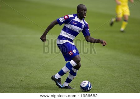 LONDON, UK AUGUST 2, Patrick Agyemang at the pre-season friendly football match between QPR and Chievo,