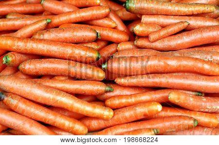 beautiful orange carrot like background, fresh food