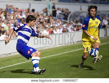 LONDON, UK AUGUST 2, at the pre-season friendly football match between QPR and Chievo,