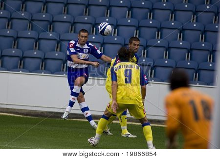 LONDON, UK AUGUST 2,Adam Bolder crosses the ball at the pre-season friendly football match between QPR and Chievo,