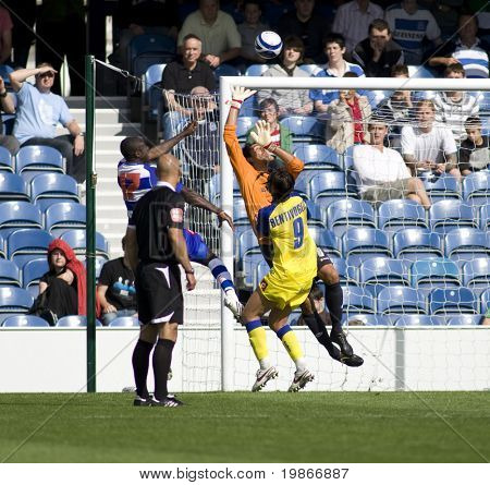 LONDON, UK AUGUST 2, Lee Cook attacks the ball at the pre-season friendly football match between QPR and Chievo,